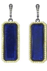 Armenta Elongated Lapis Earring - Lyst