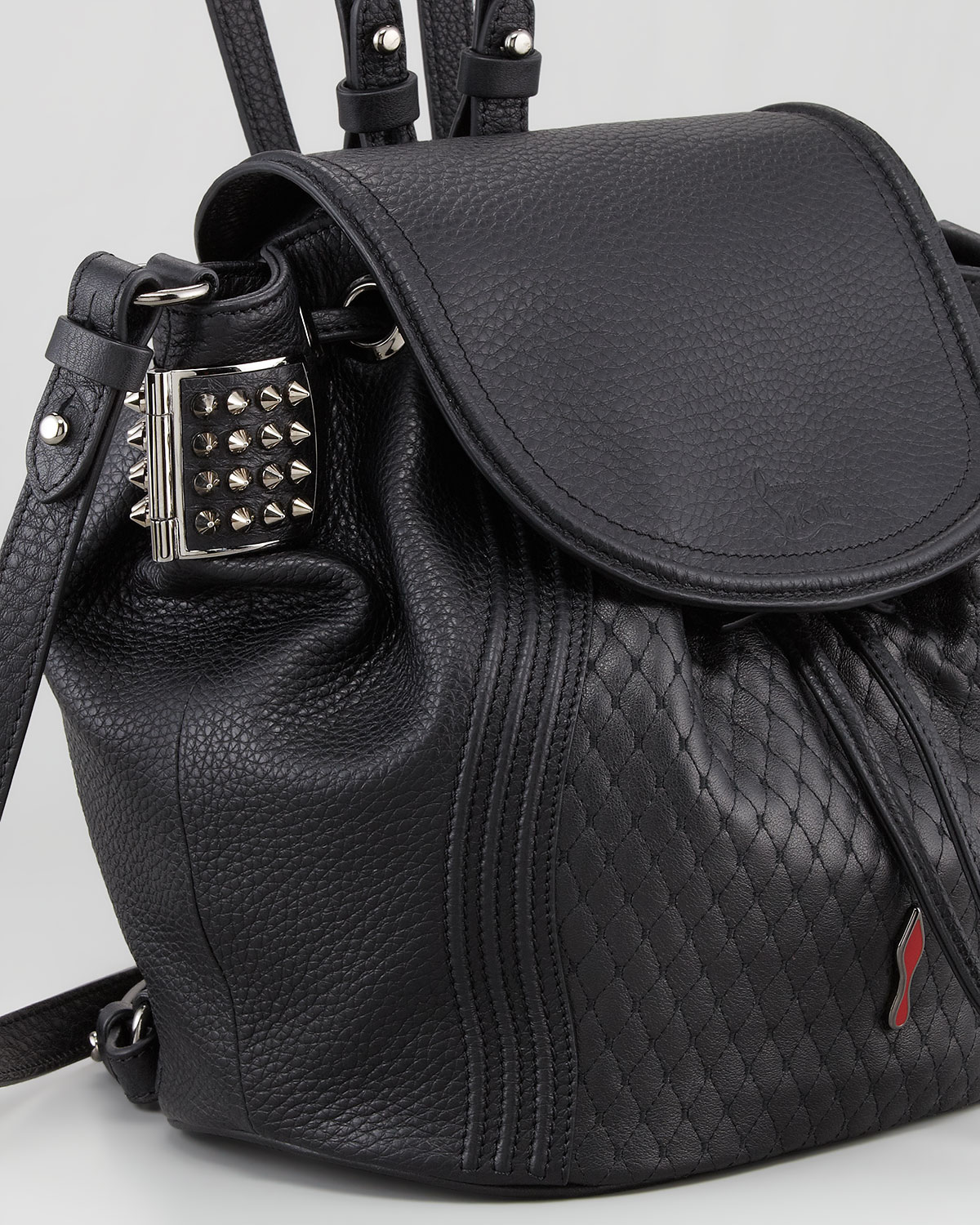 Lyst Christian Louboutin Dompteuse Spiked Backpack