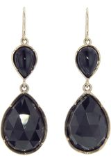 Irene Neuwirth Onyx Teardrop Earrings - Lyst