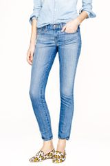 J.Crew Toothpick Jean in Northport Wash - Lyst