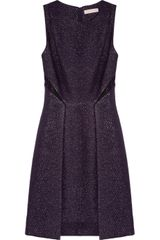 Matthew Williamson Metallic Brocade Cutout Dress - Lyst