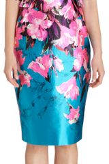 Prabal Gurung Floral Sheath Dress - Lyst