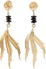 Yves Saint Laurent Vintage Clipon Earrings - Lyst