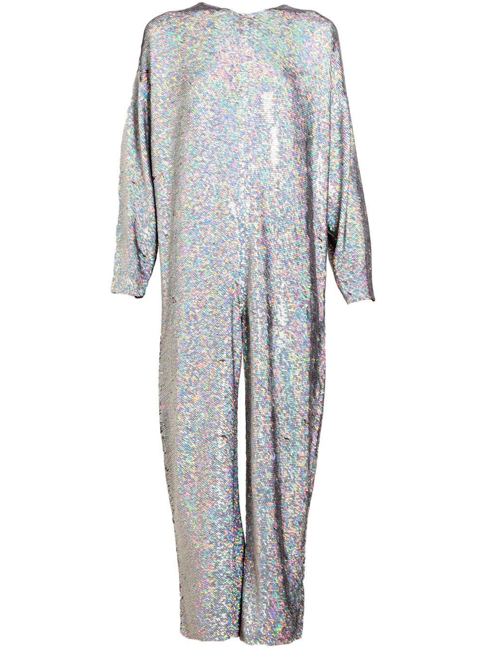 Lyst - Ashish Holographic Sequin Jumpsuit in Gray