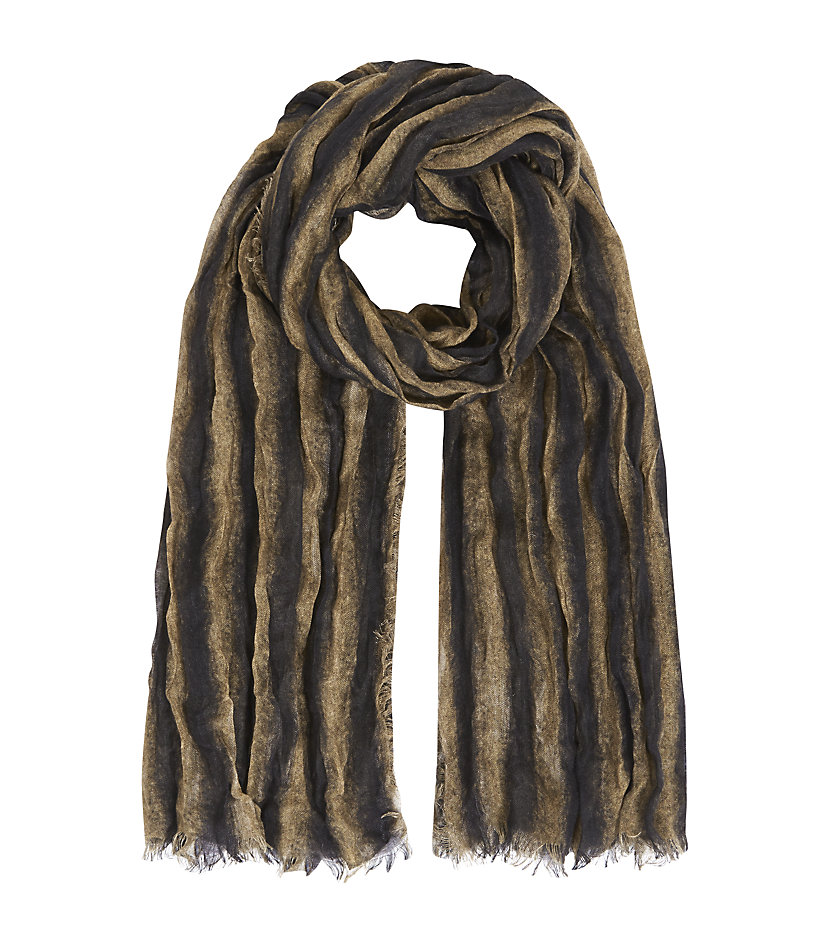 fendi and silk scarf in brown lyst