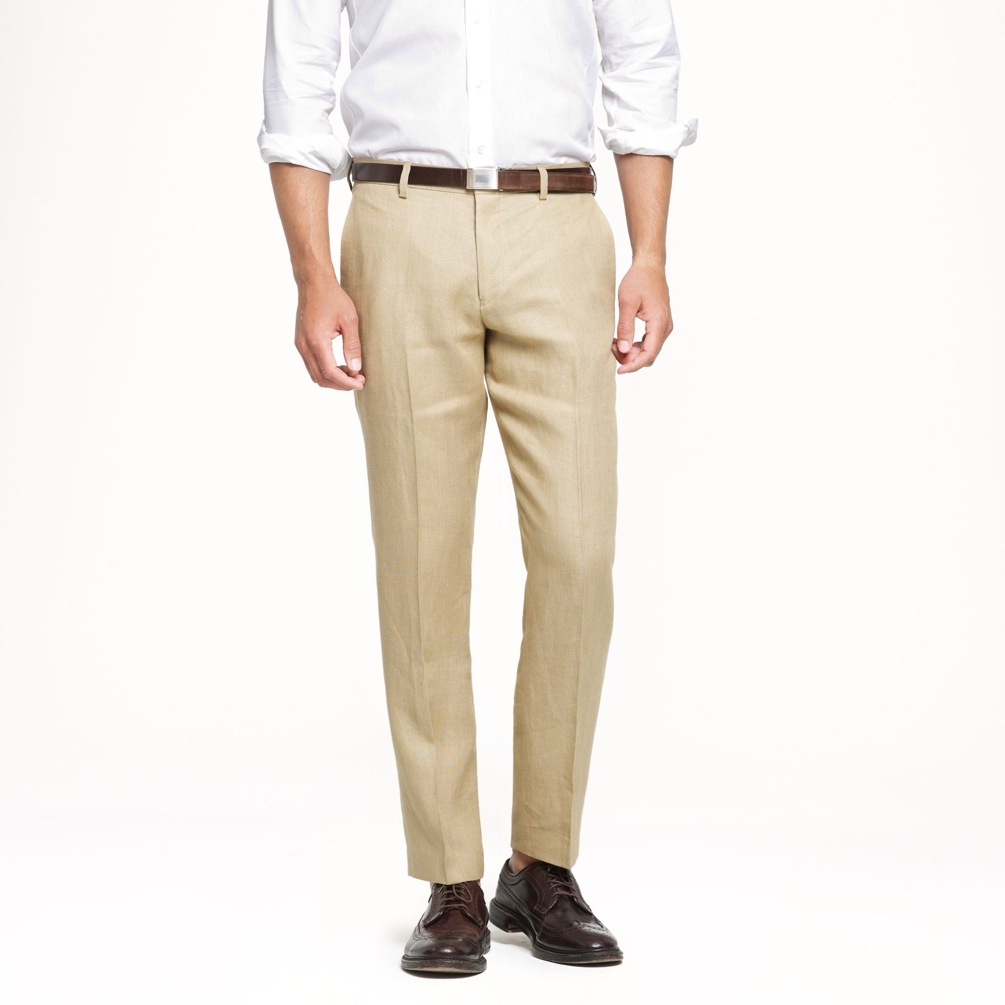 Lyst J Crew Ludlow Slim Suit Pant In Irish Linen In
