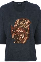 Markus Lupfer Squirrel Sequin Jumper - Lyst