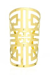 Tory Burch Labyrinth Cuff - Lyst