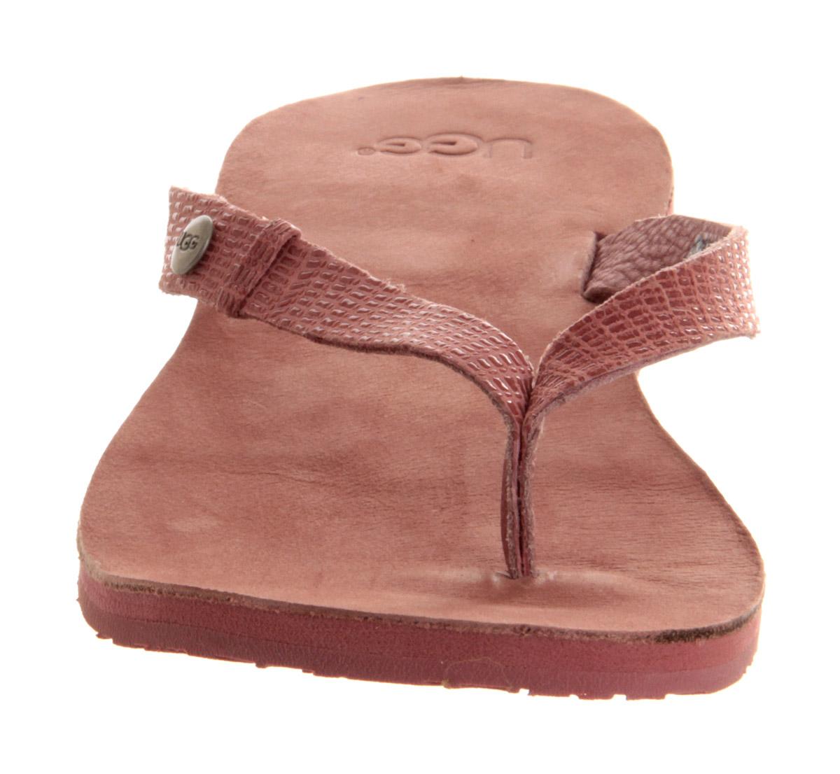 Lyst - Ugg Ally Flip Flop In Pink-6426