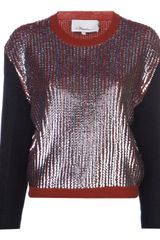 3.1 Phillip Lim Sequin Sweater - Lyst