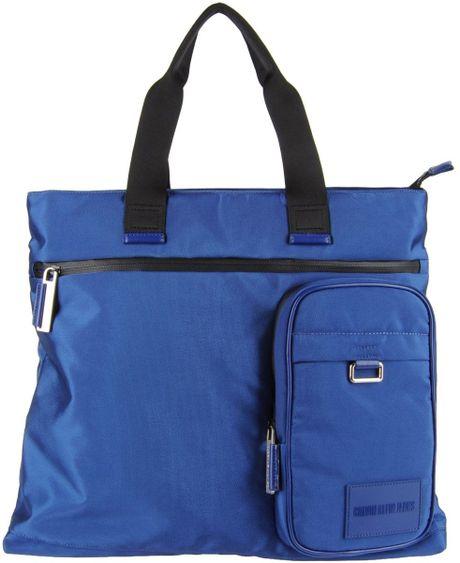 Calvin Klein Jeans Handbag in Blue
