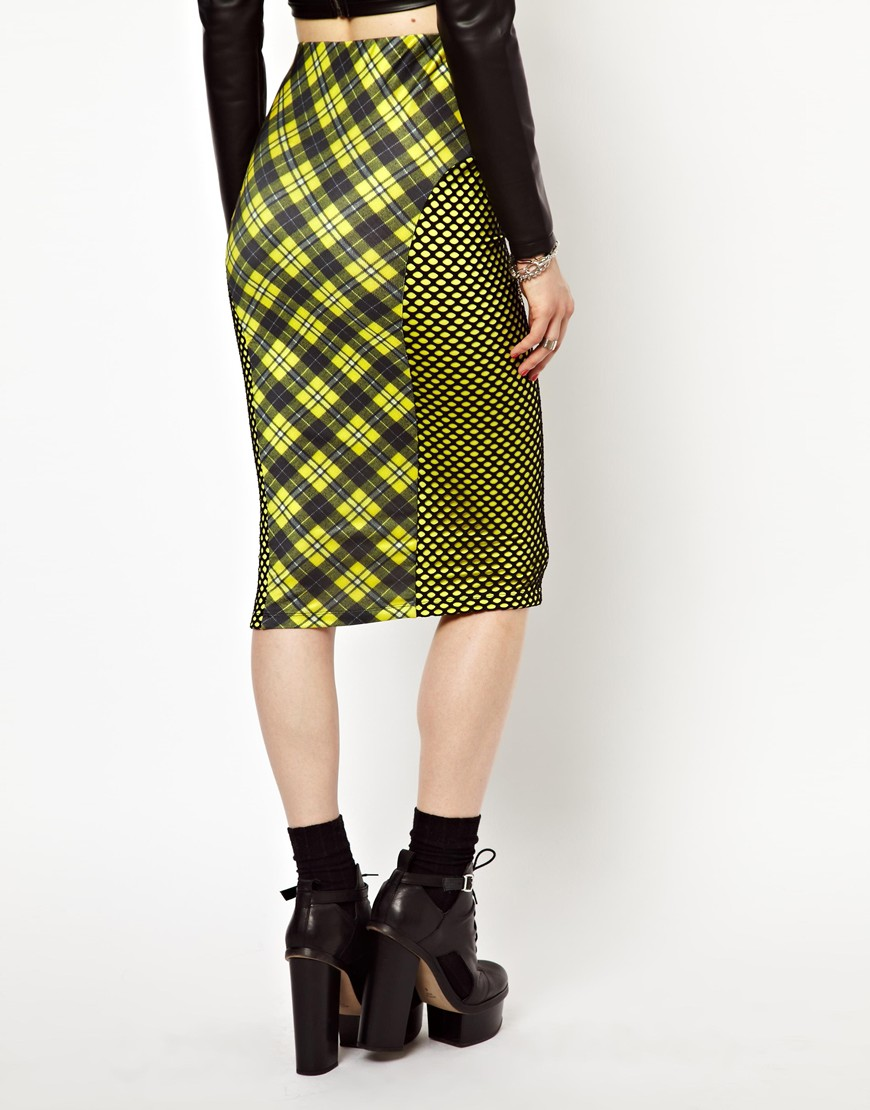 Nw3 by hobbs freak of nature mad bad and plaid skirt in plaid in ...
