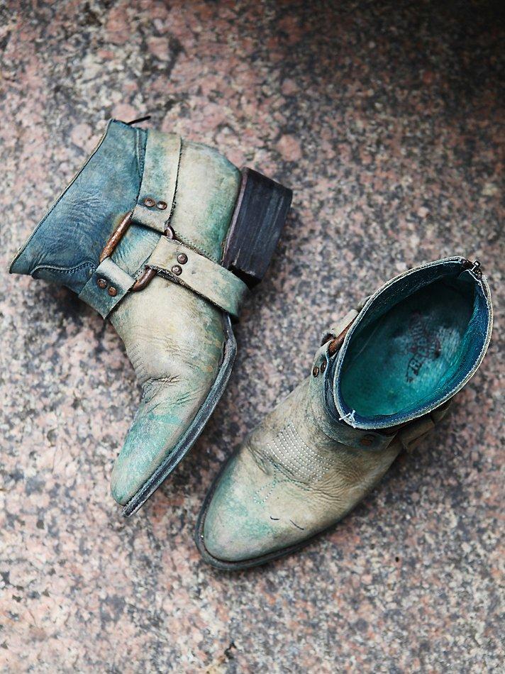 Freebird By Steven Short River Boot In Blue Lyst