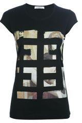 Givenchy Printed Top - Lyst