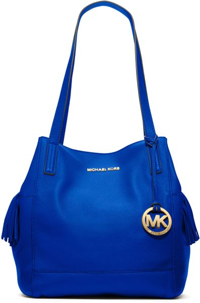 Michael Kors Large Ashbury Grab Bag in Blue (sapphire)