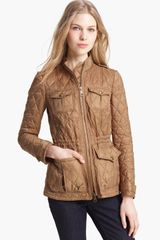Burberry Brit Raven-field Quilted Jacket - Lyst