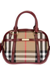 Burberry Small Orchard Bowling Tote - Lyst