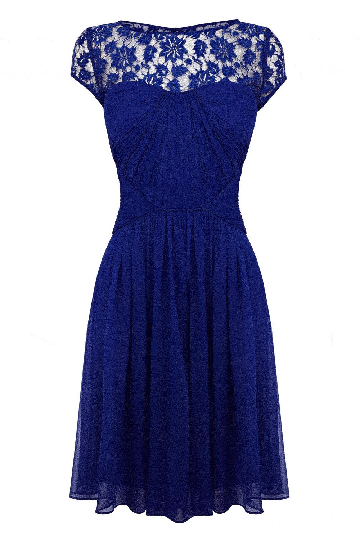 Coast Lisanne Dress In Blue