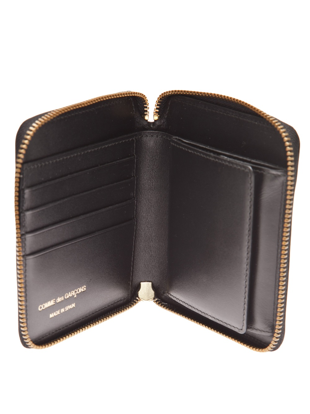 zip around wallet - Metallic Comme Des Gar?ons