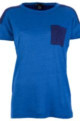 Marc By Marc Jacobs Pocket Colour Block Tshirt - Lyst