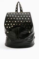 Nasty Gal Flip Stud Backpack - Lyst
