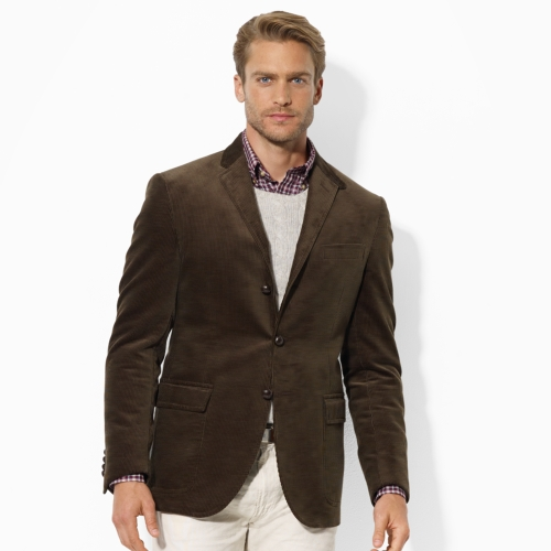 Lyst Polo Ralph Lauren Customfit Corduroy Sport Coat In