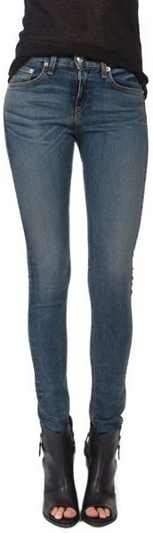Rag & Bone High Rise Skinny - Lyst