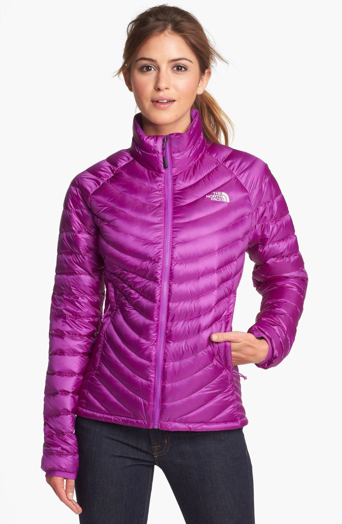 24851c4e5 sale north face purple puffer jacket 2e5e3 3f788