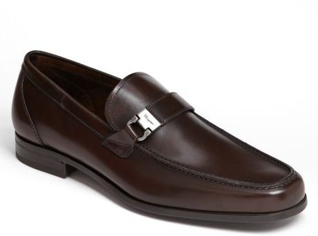 Ferragamo Tazio Loafer in Brown for Men (Hickory) - Lyst