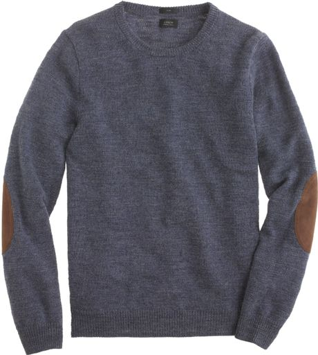 Mens sweaters with elbow patch
