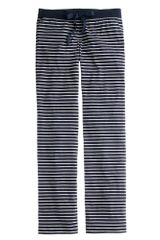 J.Crew Petite Dreamy Cotton Pant in Stripe - Lyst