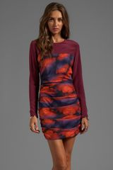 Maurie & Eve Paris Dress in Wine - Lyst