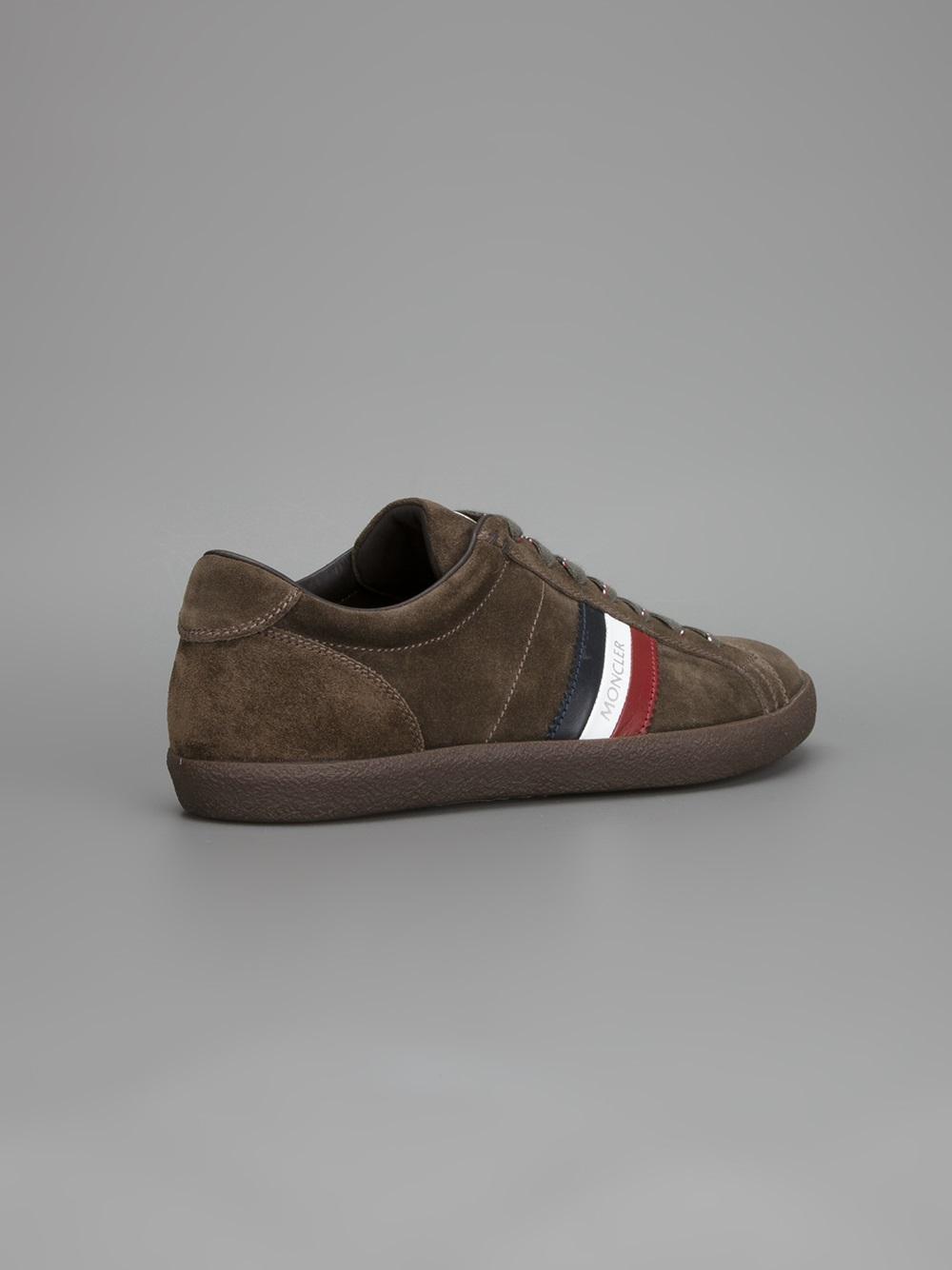 Moncler Monaco Sneaker in Brown for Men