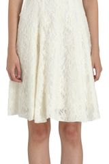 Nina Ricci Lace Cocktail Dress - Lyst