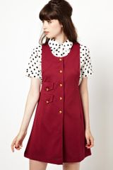 Asos Pinafore Dress - Lyst