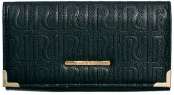 River Island Simple Logo Embossed Flapover Purse - Lyst