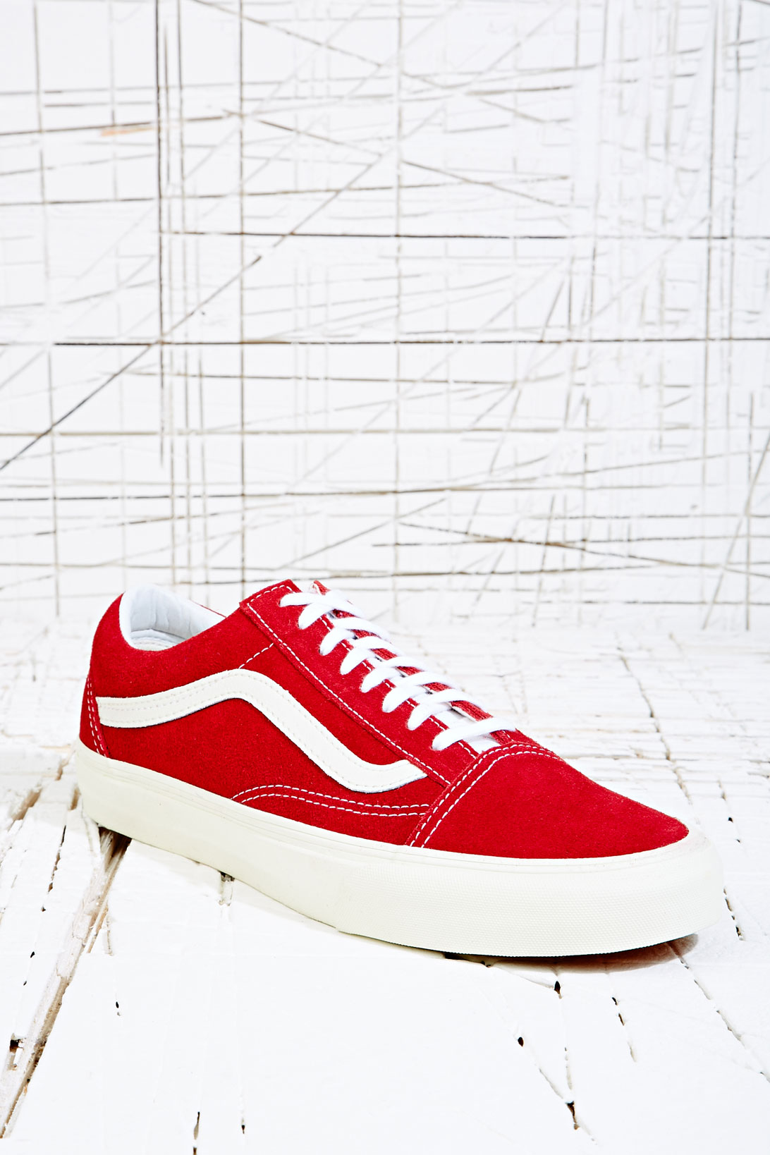 d8aad7a13f Vans Old Skool Vintage Trainers in Rio Red in Red for Men - Lyst