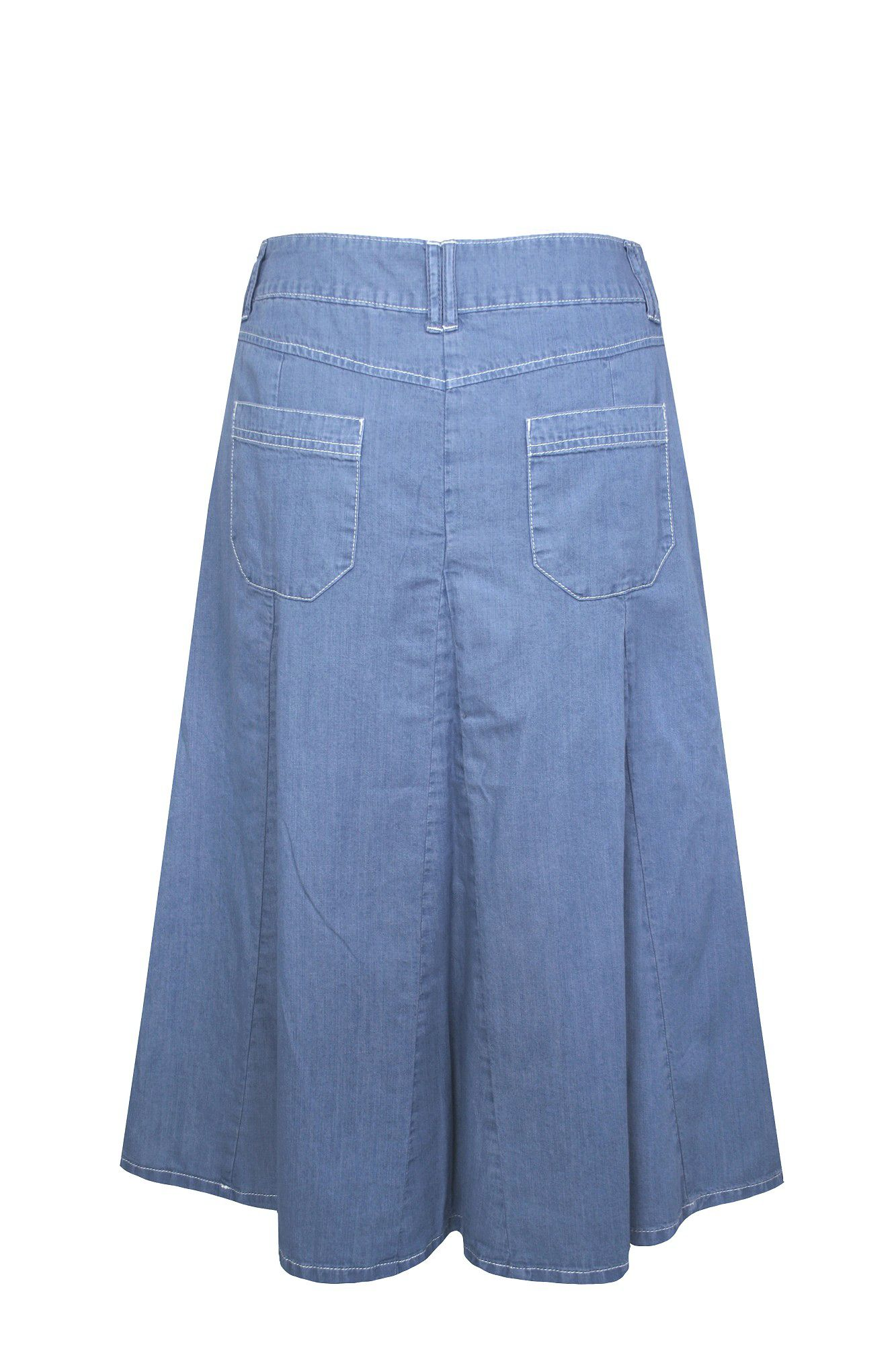 Dash Lightweight Denim Skirt in Blue | Lyst