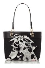 DKNY Small Scarf Tote Bag - Lyst