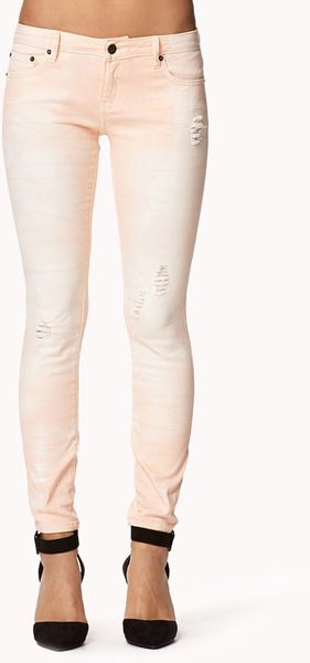 Peach Skinny Jeans. Related: black high waisted skinny jeans, white skinny jeans for juniors, ripped skinny jeans, more. skinny bootcut jeans; Jessica Simpson Kiss Me Super Skinny Color Jean. Boost your bounty of denim with the addition of these super skinny jeans by Jessi.
