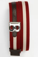 Bally Bising Stripe Belt - Lyst
