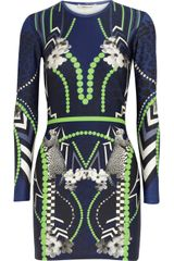 Emma Cook Pop Printed Stretch jersey Mini Dress - Lyst