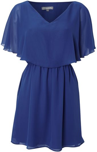 Love Mini Cape Sleeve Dress - Lyst