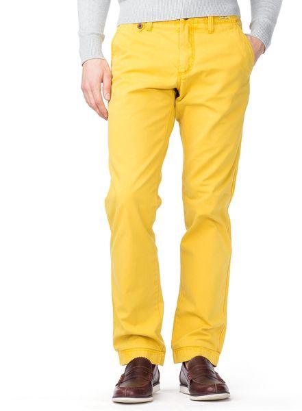 tommy hilfiger mercer regular fit chino in yellow for men. Black Bedroom Furniture Sets. Home Design Ideas