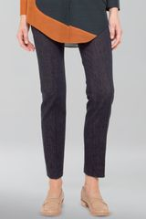 Akris Stretch Denim Ankle Pants - Lyst