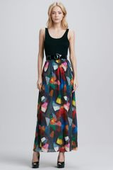 Alice + Olivia Alice Olivia Kell Belted Maxi Dress - Lyst