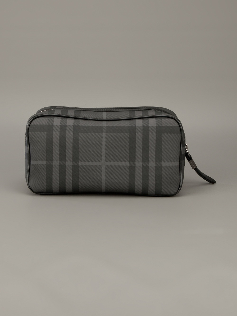 Burberry Brit Checked Wash Bag in Gray for Men - Lyst 985948b8182b0