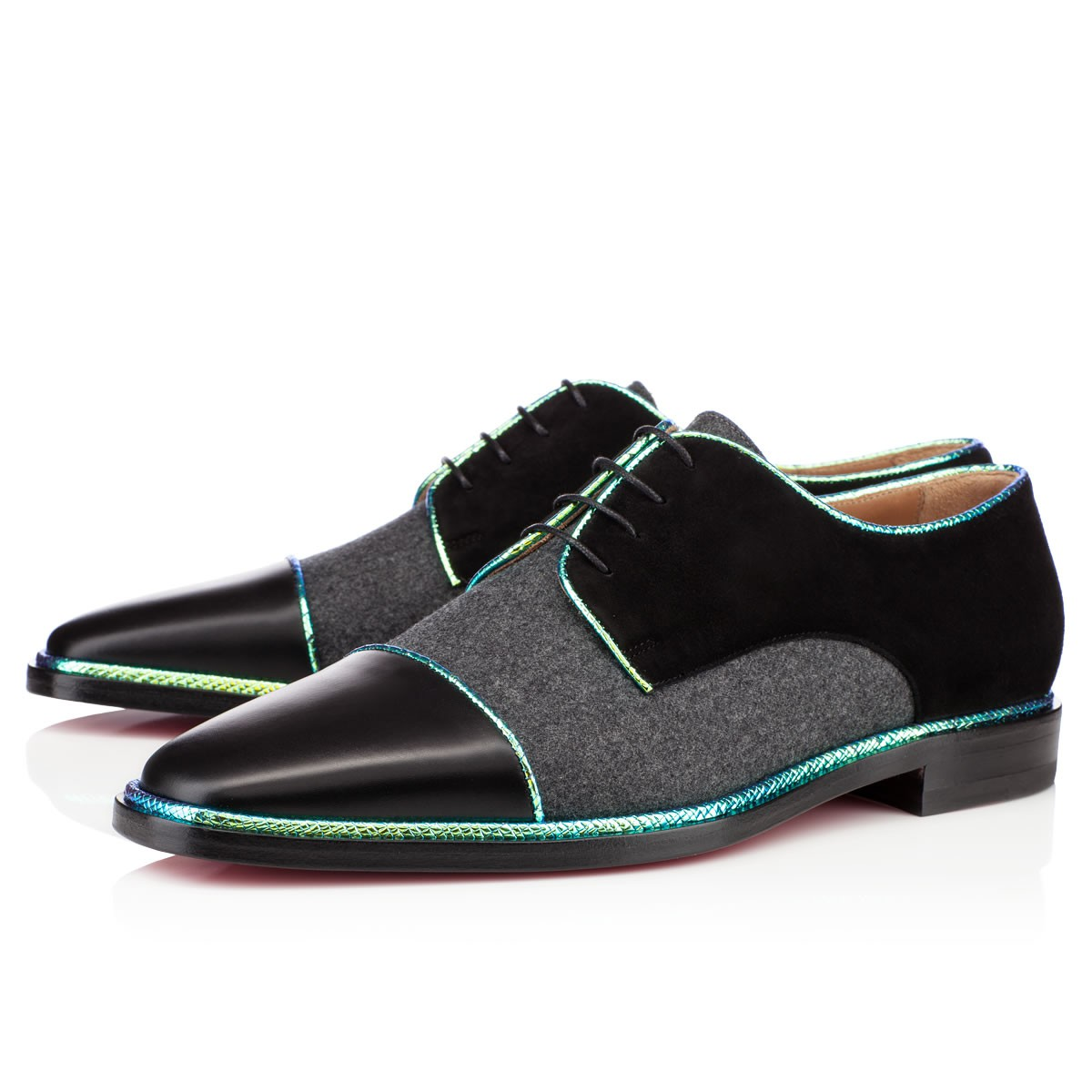Christian louboutin Bruno Orlato Mens Flat in Black for ...