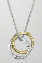 John Hardy Bamboo Interlinking Pendant Necklace - Lyst
