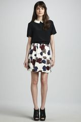 Marc By Marc Jacobs Marie Tulip-print Skirt - Lyst